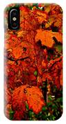 Where Has All The Red Gone - Autumn Leaves - Orange IPhone Case