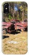Where Old Vehicles Go IPhone Case