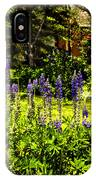 Where The Lupines Grow IPhone Case