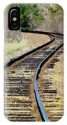 Where The Tracks Bend IPhone Case