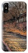 Where Trains Go To Die IPhone Case