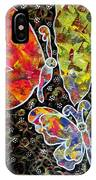 Whimsical Painting- Colorful Butterflies IPhone Case