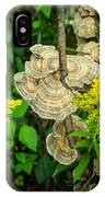Whirled Turkey Fungus IPhone Case