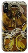 Whiskey Pour IPhone Case