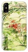 Whispers Of The Soft Wind IPhone Case