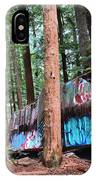 Whistler Train Wreckage In The Trees IPhone Case
