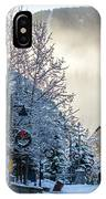 Whistler Village On A Sunny Winter Day IPhone Case