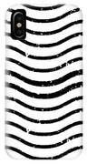 White And Black Postage IPhone Case