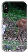White Angel And Mom II IPhone Case