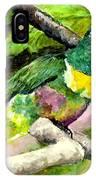 White-bibbed Fruit Dove  IPhone Case
