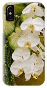 White Blooming Trail IPhone Case