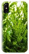 White Cedar. IPhone X Case