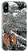 White Christmas IPhone Case