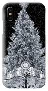 White Christmas In Texas IPhone Case