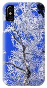 White Crystal IPhone X Case