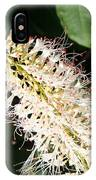 White Flower Panicle IPhone Case