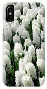 White Hyacinths IPhone Case