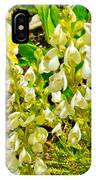 White Locoweed On Highline Trail In Glacier National Park-montana IPhone Case