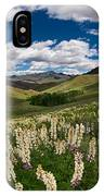 White Lupine IPhone Case