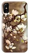 White Magnolias IPhone Case