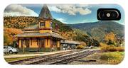 White Mountans Crawford Train Depot IPhone Case