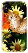 White Peacock Butterfly I V IPhone Case