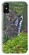 White Pearl Waterfall Vert IPhone Case