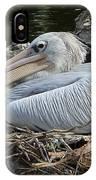 White Pelican 1 IPhone Case
