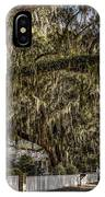 White Picket Fences IPhone Case