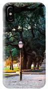 White Point Garden Walkway Charleston Sc IPhone Case
