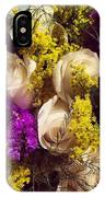 White Roses IPhone Case