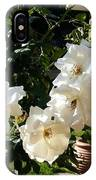 White Roses H A IPhone Case
