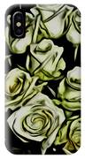 White Roses - Moving On IPhone X Case