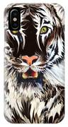 White Tiger 1 IPhone Case