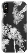 White Trees IPhone Case