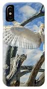 White Wide Wings IPhone Case