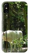 White Wolf In Forest IPhone Case