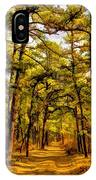 Whitebog Village Woods In New Jersey  IPhone Case