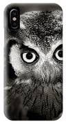Whitefaced Owl IPhone Case