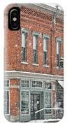 Whitehouse Ohio In Snow 7032 IPhone Case