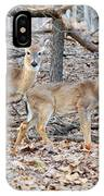 Whitetail Duo IPhone Case