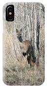 Whitetail Undercover IPhone Case