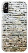 Whitewash Old Stone Wall IPhone Case