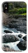 Whitewater At Bear Hole IPhone Case