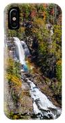 Whitewater Falls With Rainbow IPhone Case