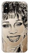 Whitney Houston In 1992 IPhone Case