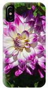 Who Dun It Dahlia IPhone Case