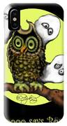 Who Says Boo IPhone Case