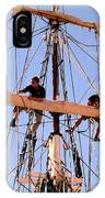 Who Was That Mast Man IPhone Case