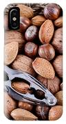 Whole Nuts In A Basket IPhone Case